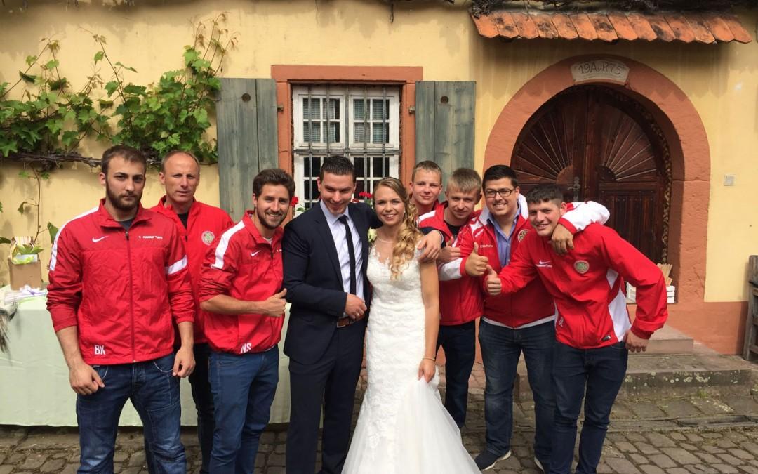 Hochzeiten beim SV Ortenberg