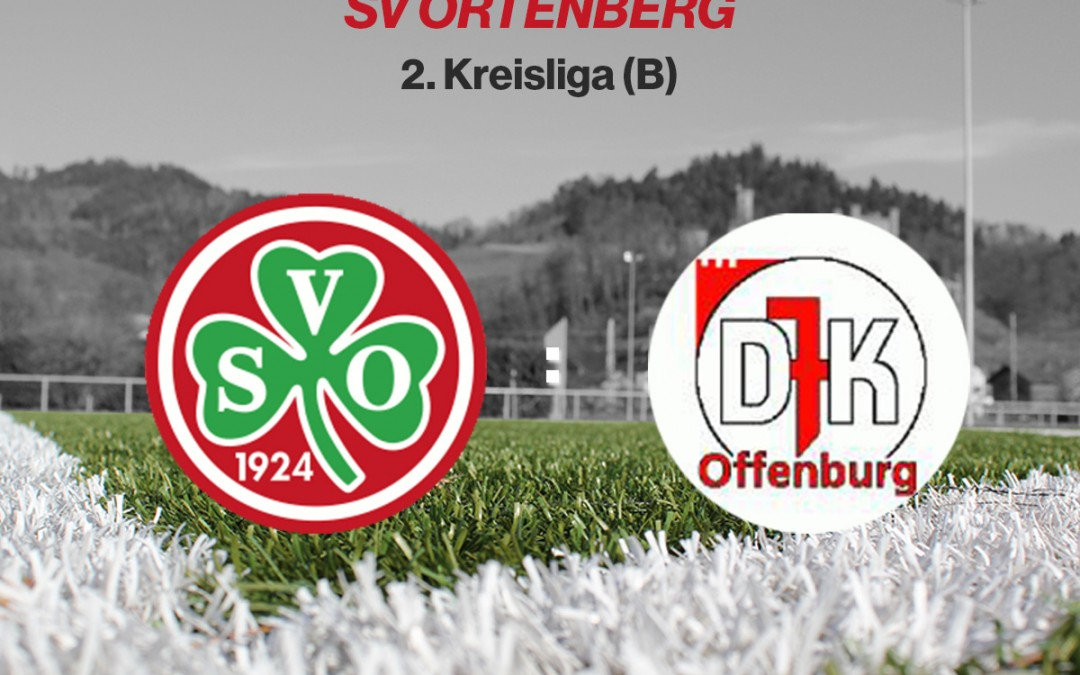 Kühne- und Müller-Festspiele gegen DJK Offenburg